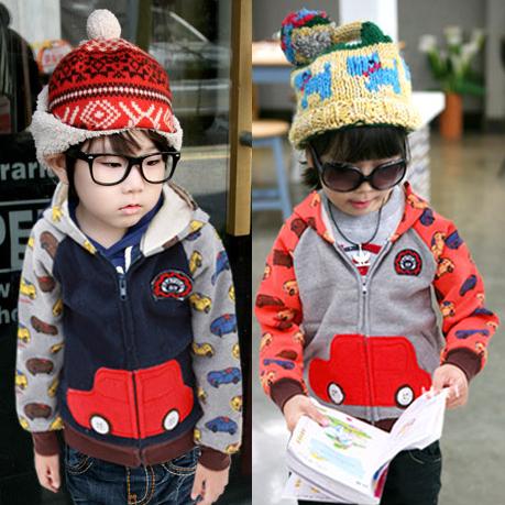 Baby Fleece Jacket With Hood Boys Fleece Hooded Jacket
