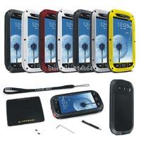Outdoor Partner Love Mei Waterproof Dustproof Shockproof Aluminum Metal Powerful Phone Protection Case For Galaxy S3 III I9300