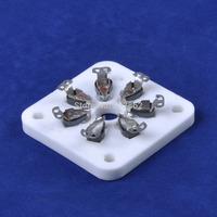2PCS Ceramic Tube socket 813 FU-13 5-125B 7Pin U7G