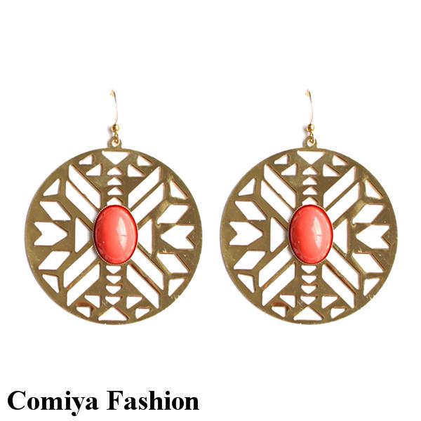 Серьги висячие Comiya Fashion brincos ER-140619 серьги висячие fanhua brincos de ouro fj er 5997