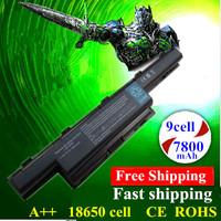 9ell New Replace Laptop Battery For Acer Aspire 55520 5560G 5733 5736Z 5741 5741ZG 5742G 5742Z 5750G 7251 7551 7552G 7560G 7741