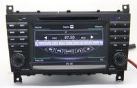 Car DVD GPS for Mercedes Benz C-W203 (2004-2007) / CLK-W209 Audio Video Navigation TV Bluetooth Radio,Free GPS map,Free shipping