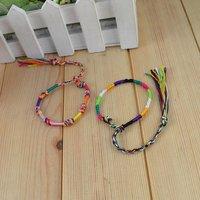 2014 Promotion Pulseira Bracelets For Friendship Bracelets Handmade (mix Color) China Wholesale Fashion Jewelry Manufacturer