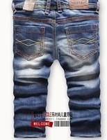 Retail fashion cool cotton denim boys jeans brand children's long pants kids pants