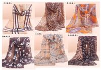 JLB 70cm*160cm New Design Printing Plaid Polka Velvet Scarf Chiffon Silk winter Wrap Shawl Long Scarves For Christmas Gifts