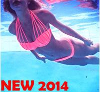 new 2014 Sexy Women's Fashion Swimwear triangl Bikini biquini Women swimsuit bikinis set Push Up bikini brazilian