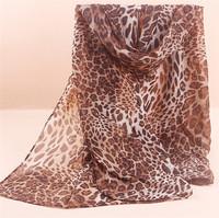 160cm*70cm New Design Printing Leopard Polka Velvet Scarf Chiffon Silk winter Wrap Shawl Long Scarves For Christmas Gifts