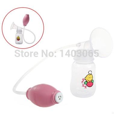 Free Shipping 2014 New Arrival Advanced Manual Breast Pump Strong Breastfeeding Supplies 150ML Feeding Bottle / Storage BPA FREE(China (Mainland))