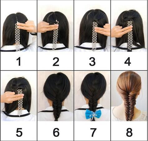 как заплести волосы в твистер