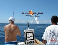 Promotion 2.8INCH Wireless Sonar Fish Finder with 50 Meters' Operation Range Sonar Sensor