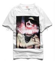 selling 2014 tide brand black cotton T-shirt men's short sleeve high quality short sleeves summer 1123 free shipping