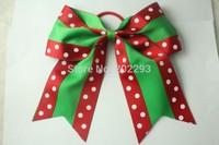6-7 inch christmas halloween cheerleading bows