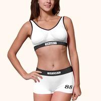 women's fashion sports bra sexy sports underwear panties sets Yoga bra Vest free shipping women fitness bra sport