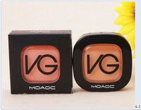 top quality! women love 1pcs retail 2014 new fashion V-G makeup blusher,high quality make up blush free shipping