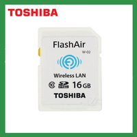 8GB 16GB 32GB Brand New Toshiba Flash Air wireless Class 10 SDHC Memory Card Wifi SD Card for Laptop DV SLR Carema free shipping