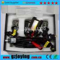 Freeshipping 35w hid xenon kit DC H4 hi/lo Conversion headlight 10 set per lot hid high low beam H4 kit SQ1821