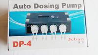 Jebao Auto Dosing peristalsis pump DP-4 for coral reef aquarium 4 pump head