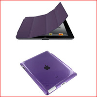 Universal High quality stand magnetic folio smart case cover for IPAD 2 3 4 Free shipping