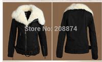 New arrival Cube Faux Fur Like Mink Coat Double Face Women's Long Jacket Clothes 808099