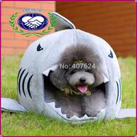 High Quality Shark Shaped Pet House Soft Decorative Pet Cat Beds