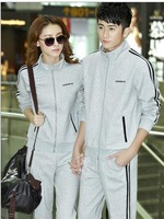 The new casual sportswear for men and women couples suite sweater