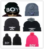 BOY LONDON stretch wool cap bboy hat beanie knit hat hip hop hats