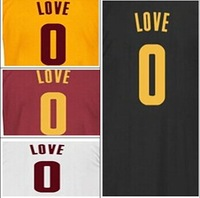 Free Shipping,2014-15 cheap and top quality cavs #0 Kevin Love Jersey ad (4 color)  new style Basketball jersey,Embroidery logos