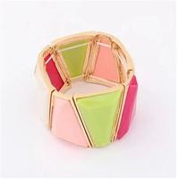 Fashion jewelry bracelet hand ring bracelet geometric decorative jewelry manufacturers, wholesale jewelry