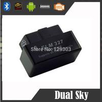 2014 Top selling SUPER MINI ELM327 Bluetooth OBD2 V2.1 black Smart Car Diagnostic tool  ELM 327 Wireless Scan Tool