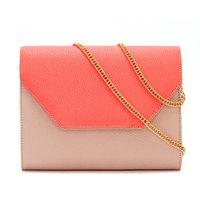 Autumn and Winter New Women Messenger Bags Fashion Patchwork Chain Envelope Bag PU Leather Women's Bolsas Femininas WJ1046