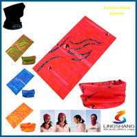 lover seamless bandana lingshang  Latest Elastic different colors  napkins  neck bandana designs is hot sale for sport LST-53