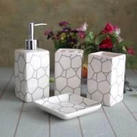 ceramic wedding bathroom decoration,sanitary ware  bathroom accessories,4pcs/lot- free shipping