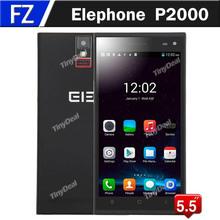 "Original Elephone P2000 5.5"" 5.5 Inch OGS HD MTK6592 Octa Core Android 4.4 3G Phone 13MP CAM 2GB RAM 16GB ROM Fingerprint NFC(China (Mainland))"