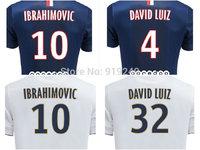 Customize! 14/15 season CAVANI jersey top quality soccer uniforms Size S-M-L-XL