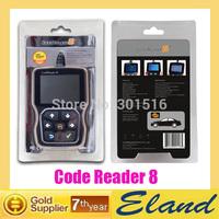 New Version Codereader8 OBDII EOBD CANBUS Scanner code reader free upgrade