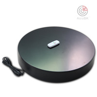 360 degree swiveling turntable as 3D photography base