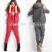 HOT sale !! new 2014 sport sweater spring&autumn season high quailty women's sweatshirt hoody 3pcs/set XYJ6413