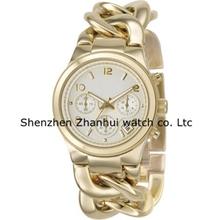 Drop Ship Runway Rose Gold-tone Tortoise Twist Chain Link Ladies Watch MKZH01252 MKZH01252(China (Mainland))