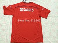 Customize! 14/15 season Benfica jersey top quality soccer uniforms Size S-M-L-XL