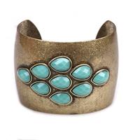 Ethnic   2014  Newest women  Vintage 2 styles Bangle Cuff Bracelet Wristband free shipping  140822