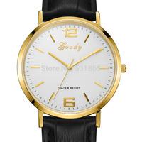 2014 men import MIYOTA movement quartz watch fashion&casual genuine leather watch