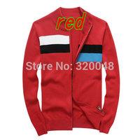 New 2014 Fall Winter Blusas Masculinas Men Cardigan Sweaters Fashion Casual Slim Mixed colors Men Cardigan Sweater Free Shipping