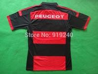 Customize! 14/15 season Flamengo jersey top quality soccer uniforms Size S-M-L-XL