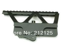 Midwest Industries Quick Detach Picatinny-Style Scope Mount AK AK47, AK74 Side Rail Matte free shipping