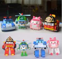 Free shipping 96pcs/lot Robocar poli car bubble South Korea Thomas toys 4models mix robocar poli