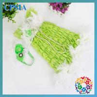 Summer Girl Dresses 2014 Hot Sales Children Boutique Clothing Lace Child Dress for  party  12set/lot