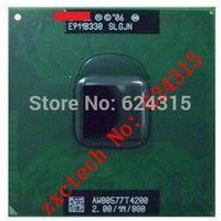 Pentium T4200 CPU (1M Cache, 2.00 GHz, 800 MHz FSB) PGA478, SLGJN ,TDP 35W, Dual Core Laptop CPU Compatible GM45 PM45 PM965