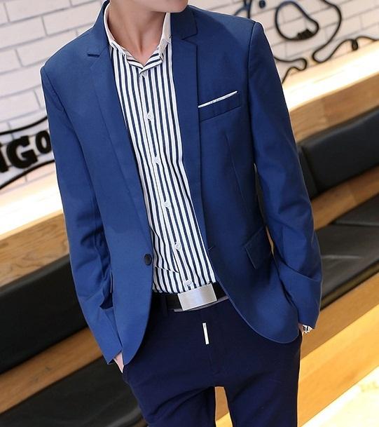 [해외]남성 코트 2014 남성 재킷 한국어 세련된 슬림 피트 남성의 정..