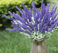 One bunch of artificial lavender, 12 flower heads, Mini order=2 bunches