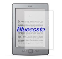 "Retail 1pcs 6 inch 6"" Screen Protector Film Guard For Amazon Kindle Paperwhite touch 4 3 3G  screen protectors Nook simple touch"